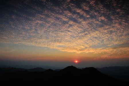 wonderfull: Wonderfull Sunset at Khaochangpuek, Kanchanaburi, Thailand