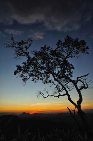 Sunset at Maehongson photo
