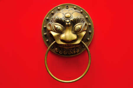 Chinese door handle photo