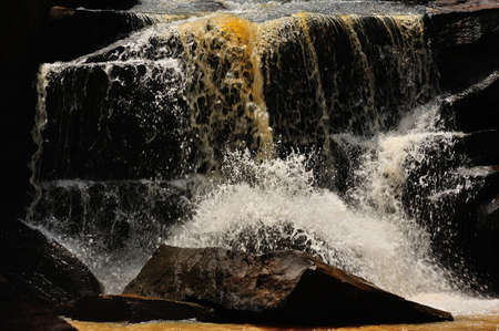 Tad tone waterfall at Chaiyaphum in Thailand photo