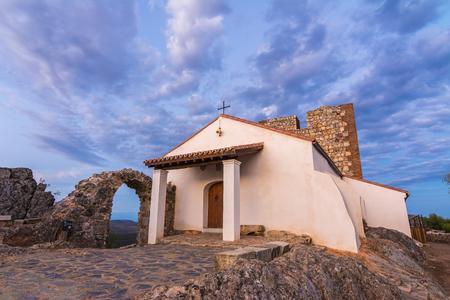 hermitage: Nice hermitage at sunset