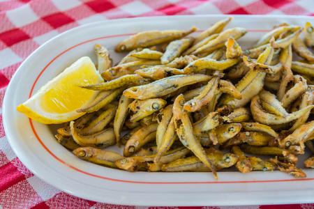gueldes fritos, comida tradicional Islas Canarias, España