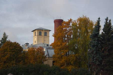 autumn city: Autumn city Stock Photo
