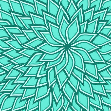spin: lotus spiral spin of a blue turquoise color