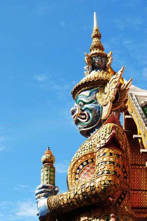 Wat Phra Kaew Giant photo