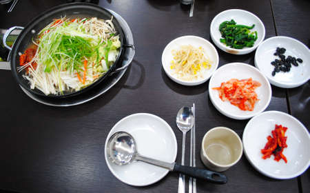 korean food set photo