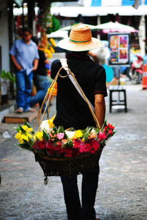 vendor in Chatuchak market , Thailand