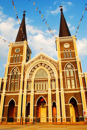 Church in Chantaburi , Thailand photo