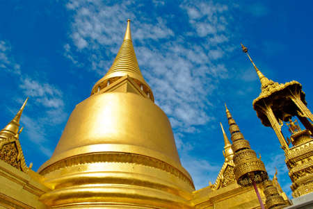 Wat Phra Kaew in bangkok Thailand photo