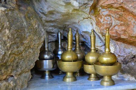 ceremonial: pour ceremonial water