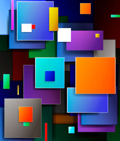 abstract colored vector background, colorful life, techno vivid colored style, shape of successful business concept, 일러스트