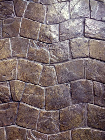 tileable: Brown Granite Sett. Seamless Tileable Texture.