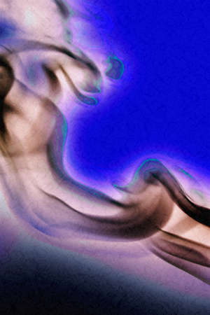 photoshop: PHOTOGRAPHY OF SMOKE CRAFTED IN PHOTOSHOP Stock Photo