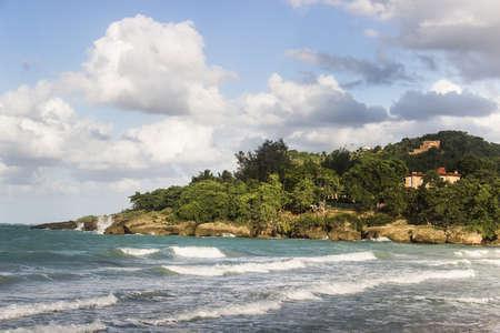 Landscape at Jibacoa Beach