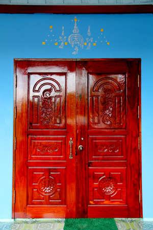 talism: talism�n en puerta en Tailandia