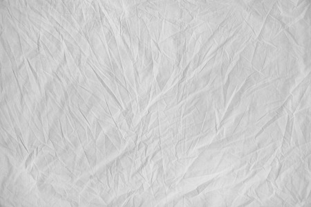 White Wrinkle Fabric Texture background
