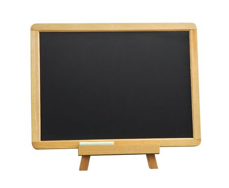 inscribe: Chalkboard Isolated On White