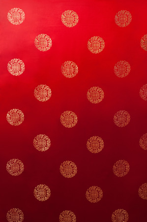 Oriental Chinese New Year pattern fabric texture background