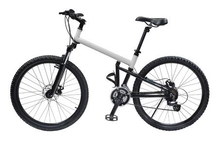 Mountain bicycle bike isolated on white background Stock fotó