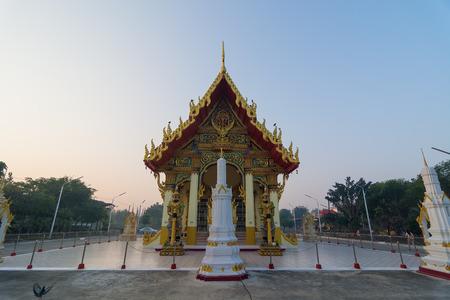nicety: Thai Temple Stock Photo
