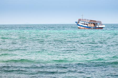 passenger ships: passenger ships on beautiful blue sea