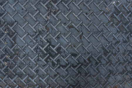 grip: Dirty metal diamond grip T pattern texture
