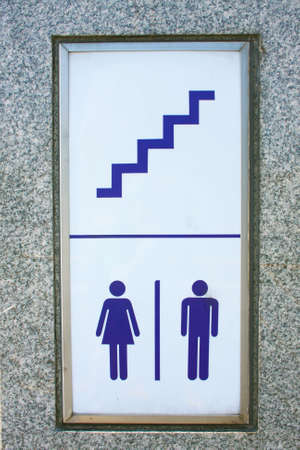 Sign of the stairs photo