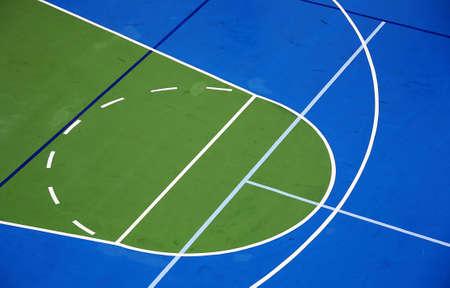 cancha de basquetbol: Corte de baloncesto  Foto de archivo