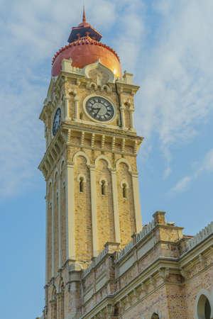 clock tower of kuala lumpur, malaysia