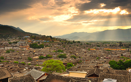 Lijiang Old Town Stock Photo
