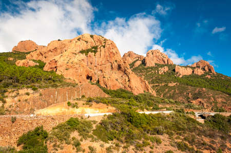 massif: Esterel mountain