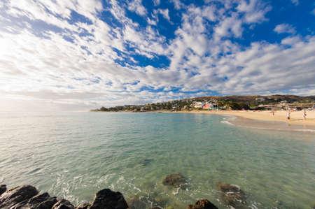 レユニオン島でサン ジルのビーチ
