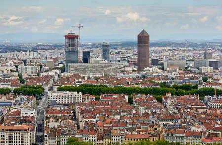 lyon: La Part Dieu building, Lyon, France Stock Photo