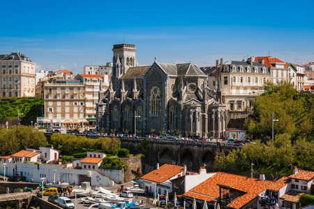 Church of Biarritz, Biarritz, France Редакционное