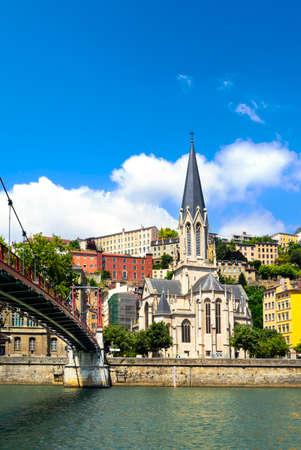 georges: Church of Saint Georges, Vieux Lyon, Lyon, France