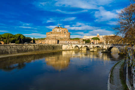 angelo: Saint Angelo castle, Rome, Italy