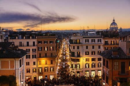 piazza: Piazza di Spagna, Rome, Italy