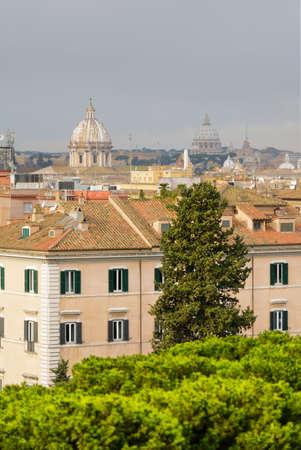 Roma: Rooftop of Roma, Italy