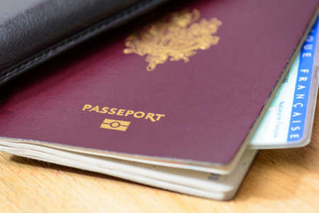 Passport and identity card