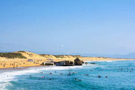 Beach of Capbreton, France