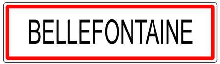 signe le trafic urbain en France illustration bellefontaine