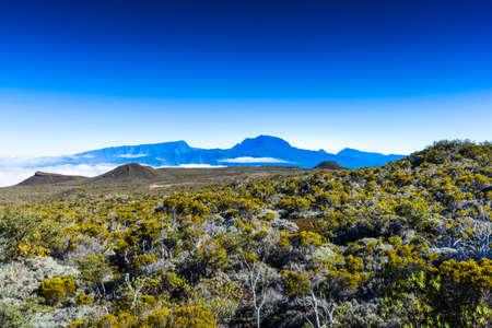 Piton des Neiges at Reunion Island Stock fotó - 87481200
