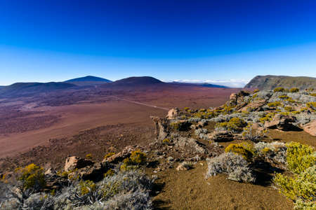 Plaine des Sables, Piton de la Fournaise at Reunion Island
