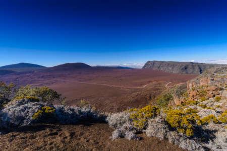 Plaine des Sables, Piton de la Fournaise at Reunion Island