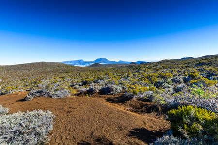 Piton des Neiges at Reunion Island