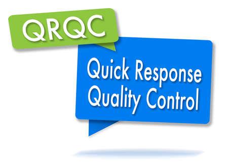 2つの色の泡の QRQC 方法 写真素材 - 88631346