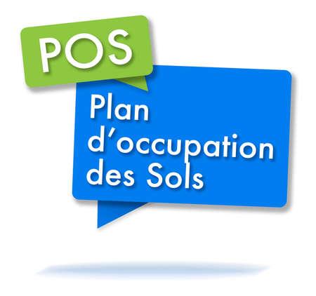 Französisch Typenschild in farbigen Blasen Standard-Bild - 99389017