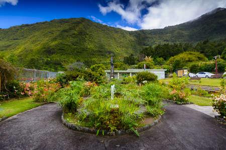 Village of Grand Ilet, Salazie at Reunion Island