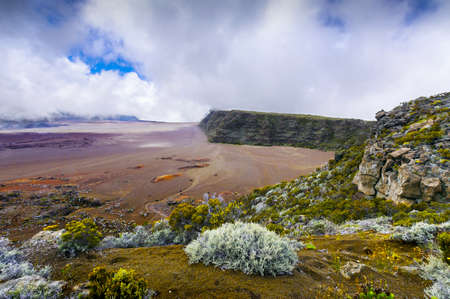 La Plaine des Sables, volcano area, Reunion Island Stok Fotoğraf