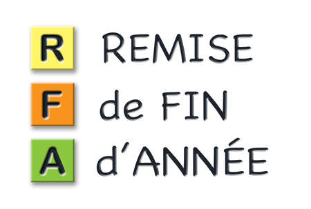 RFA 3d initials in colored 3d cubes with 3d meaning in french language
